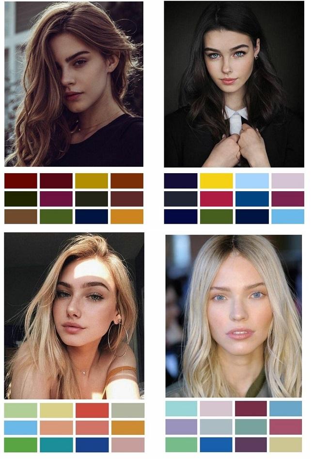 Tipos de color